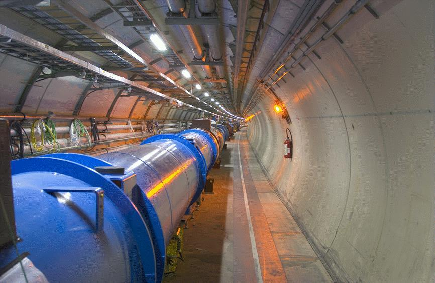 The LHC machine Energie is gelimiteerd door