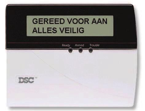 CENTRAAL CONTROLE PANEEL LCD