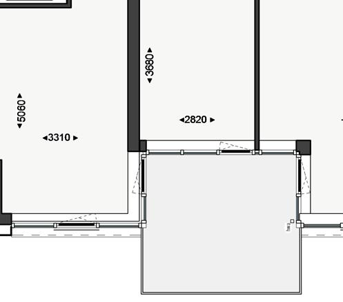 Appartement Type F #6, #13, #20, #27 5,2 m² 2,2 m² 1