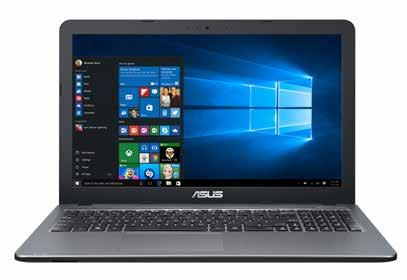 x Intel Core i3-6006u processor x 4GB DDR4 geheugen x 512GB SSD x Intel HD Graphics 520 x WiFi AC, Bluetooth 999 899 HP 15-ay165nb x Full HD mat scherm x Intel Core i7-7500u processor x 8GB