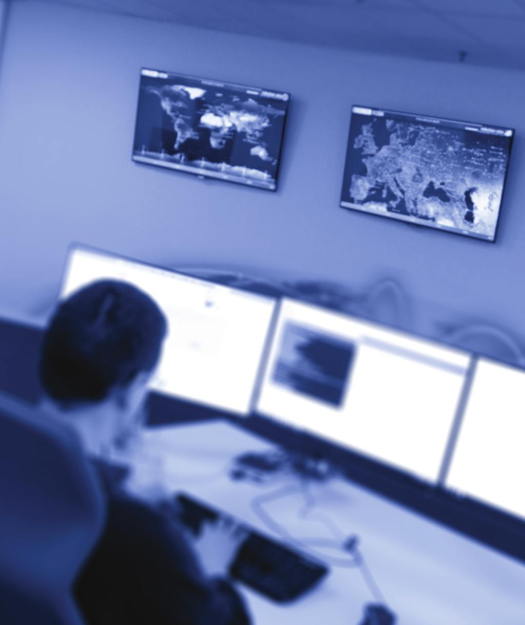 ESET NEDERLAND SECURITY OPERATIONS CENTER Sinds november 2015 heeft ESET Nederland zijn eigen Security Operations Center (SOC) in Sliedrecht.