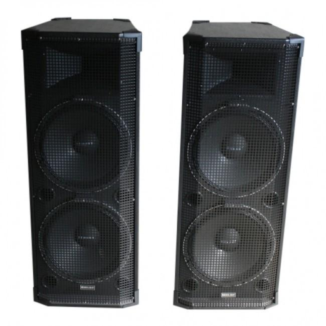 Tweeter 77971064 1500W Passieve Speakerset 2x 1500W Speakers