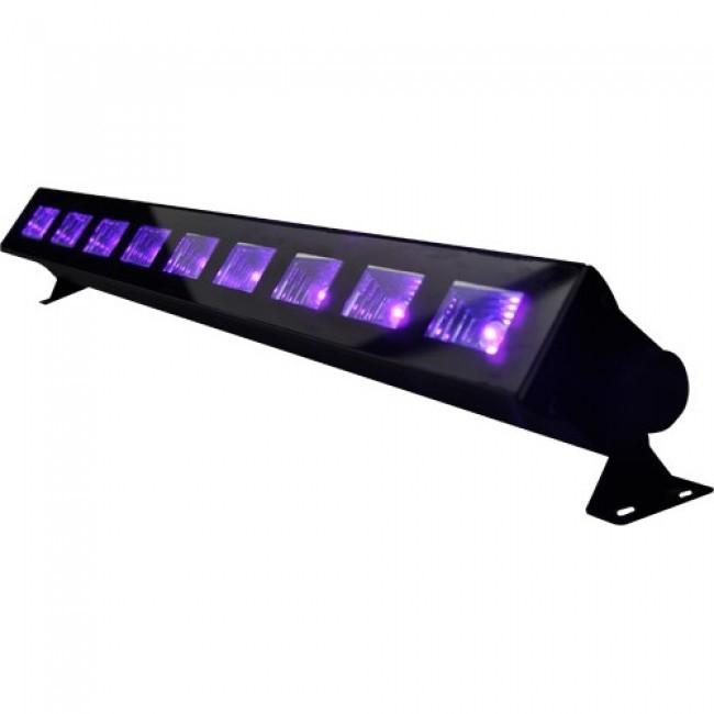 BLACKLIGHT LED Blacklight Bar 9x 1W UV LED s