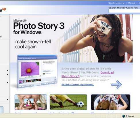 4 Klik op Download Photo Story 3 Ga