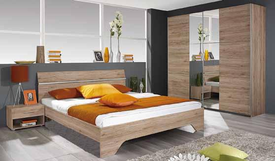 Boxspring 2-persoons AMBIANCE II 160 x 200 cm. 2-delige onderbodems 80 x 200 cm.