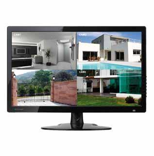 MONITOR THE BIG PROMO SMON156A 15,6 LED-MONITOR, VGA, AUDIO, HD - Type scherm: 15.6 LED - Aantal kleuren (miljoenen): 16.