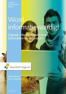Informatievaardigheden is the set of integrated abilities encompassing the reflective discovery of information, the understanding of how information is