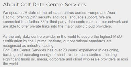 based Services - Dedicated Data Hall -