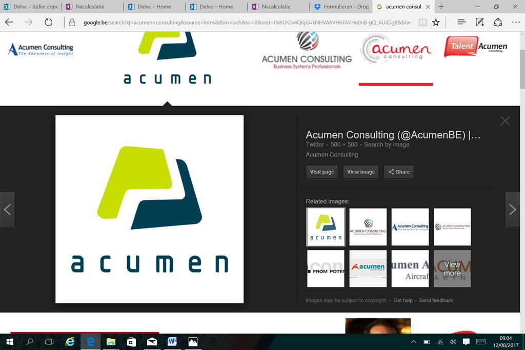Marien ACUMEN vervoegt onze trouwe sponsors! Acumen driven by data, dedicated to deliver specialist in Business Intelligence toepassingen heeft zich verbonden om onze vereniging financieel te steunen.