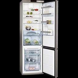 S83800CTM0 Combi Bottom 201x60x66cm A++ Full Inox Touch Control Frostmatic 285L netto inhoud
