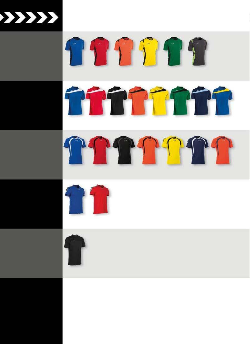 T-SHIRTS OVERZICHT PARIS T-SHIRT CLIMA TEC HIGH TECHNICAL FIBRE JUNIOR : 116-128 - 140-152 - 164 SENIOR : S - M - L - XL - XXL JR 19,99 SR
