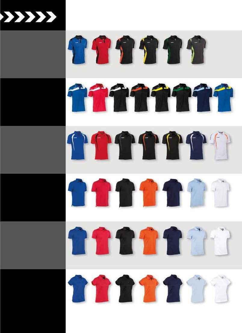 POLO S OVERZICHT PARIS POLO SENIOR : S - M - L - XL - XXL SR 25,99 POLY PIQUE HIGH COMFORT 1 8 zie pag.