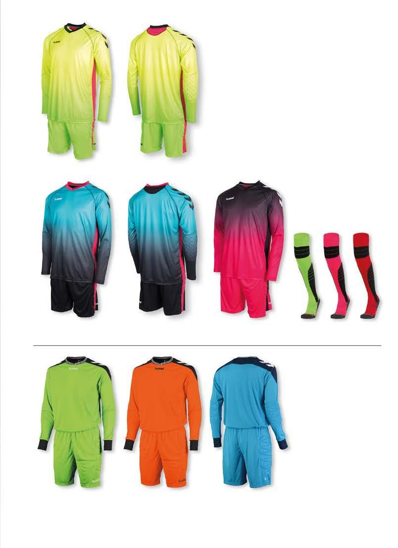 UNITY KEEPER SET: SHIRT + SHORT JUNIOR : 116-128 - 140-152 - 164 SENIOR : S - M - L - XL - XXL SET PRIJS JR 44,99 SR 49,99 1 8 neon geel - neon groen art.nr.