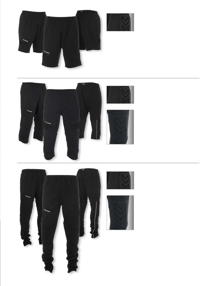 SWANSEA KEEPER SHORT MET PADDING beschermende padding JUNIOR : 116-128 - 140-152 - 164 SENIOR : S - M - L - XL - XXL JR 21,99 SR 25,99 1 DURA TTS 100% POLYESTER SHOCK ABSORBING IMPACT PROTECT REGULAR