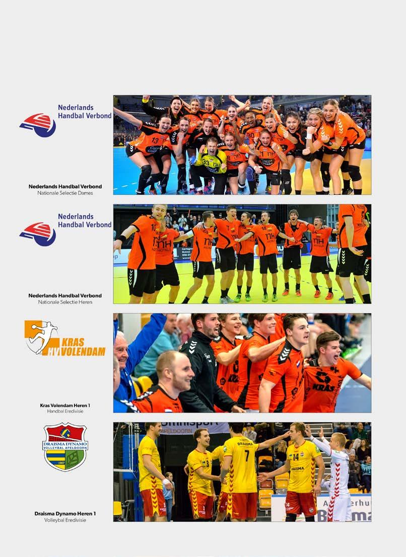 CLUB SPONSORSHIPS handbal + volleybal HSF/Henk Seppen HSF/Henk