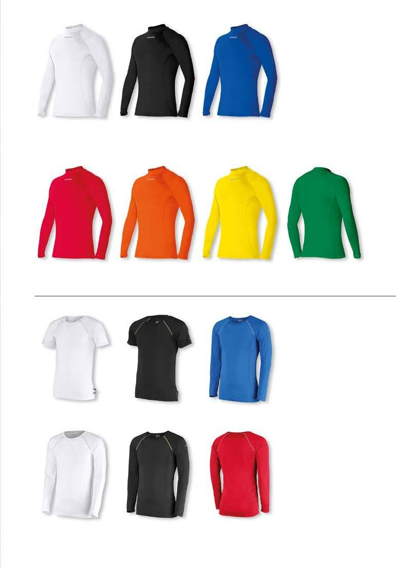 FUNCTIONAL SPORTS UNDERWEAR UNISEX - LANGE MOUW JUNIOR : 116/128-140/152-164 SENIOR : S - M - L - XL/XXL 1 JR + SR 24,99 8 wit art.nr.