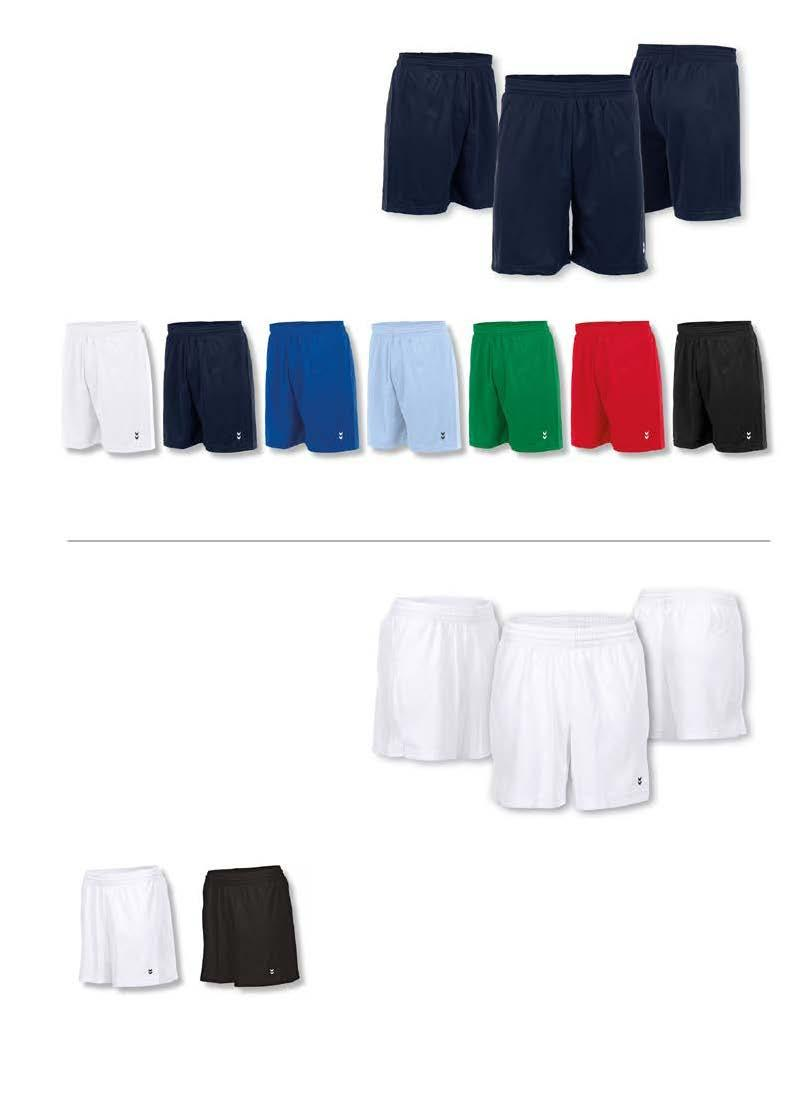 EURO SHORT MET BINNENBROEK - LANG MODEL JUNIOR : 92/104-116/128-140/152-164/S SENIOR : M - L - XL - XXL 1 JR + SR 11,50 POLY TEC 8 POLYESTER INNER QUICK DRY REGULAR functioneel short, uitgevoerd in