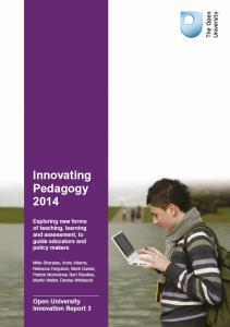 Innovating pedagogies Massive open social learning Flipped classroom BYOD Bring your own devices Learning to learn