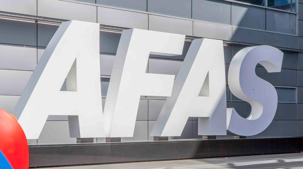 OVER AFAS SOFTWARE AFAS Software is een dynamisch en eigenzinnig softwarebedrijf met ruim driehonderd enthousiaste medewerkers.