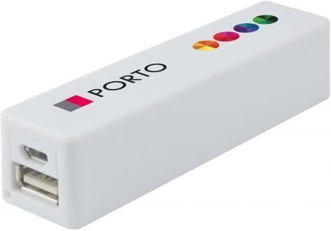 POWERBANKS Power Bank Porto 2200 mah Voor Android & Apple 25+