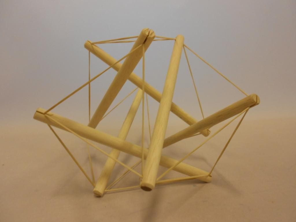 Tensegrity A tensegrity structure is based on equilibrium