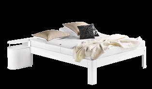 Auping Auronde Pure white Original bed zoals afgebeeld 2.910,- 180 x 210 cm, incl.