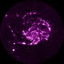 M101 Pinwheel Galaxy (Windmolenstelsel) spiraalstelsel in Grote Beer, ø 170.