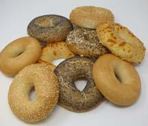 Gamma wereldbroden Gamme pains ethniques English bagels fully baked 50