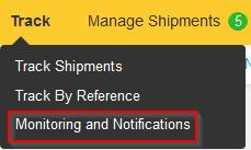 6) Lastly, shipment monitoring needs to be set as default for the specific group. You can do this on the same page as Admin Controls.