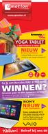WINNEN? Welkom! NIEUW NIEUW YOGA TABLET A #BETTERWAY IS HERE! Ga jij een Hercules WAE BTP03 MINI. Qmotion gaat 10 Mini Speakers verloten!