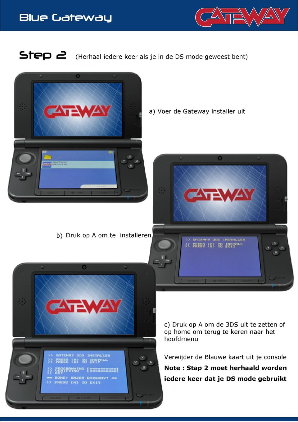 USER GUIDE  3DS firmware - PDF