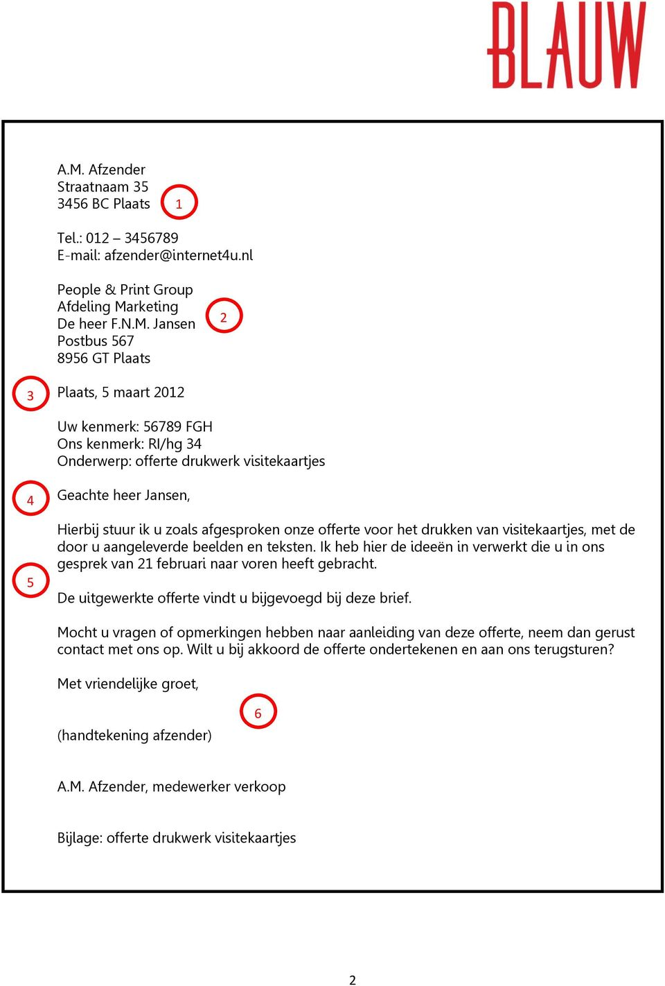 formele brief nederlands examen Formele Brief Nederland | gantinova