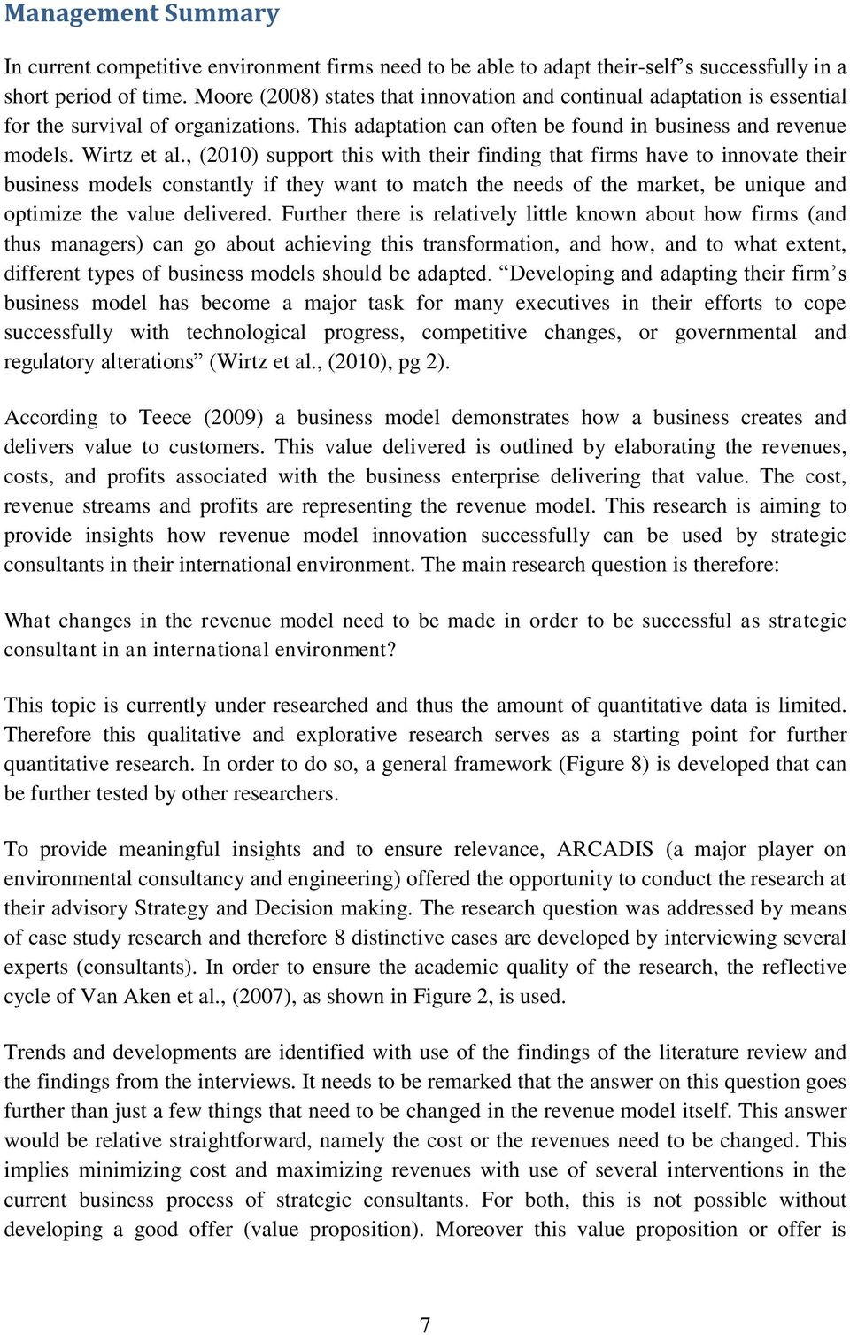 Master Thesis Revenue Model Innovation For Dutch Strategic Envelope Follower Circuit Google Zoeken 2010 Support This With Their Finding That Firms Have To Innovate Business