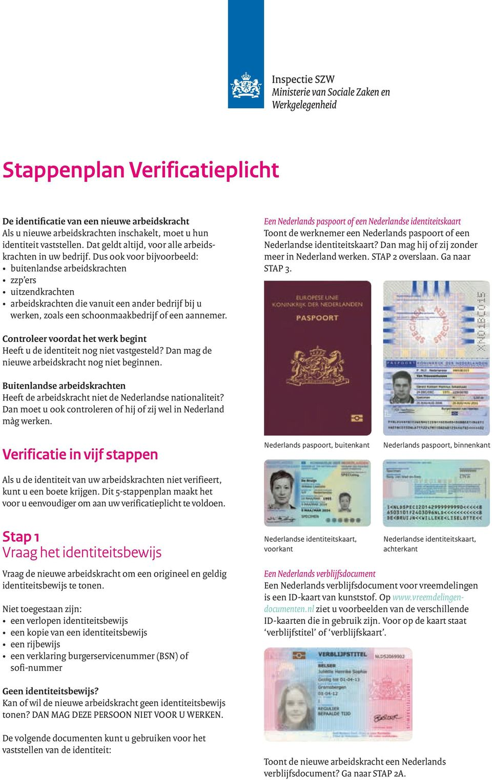 Stappenplan Verificatieplicht Pdf Gratis Download