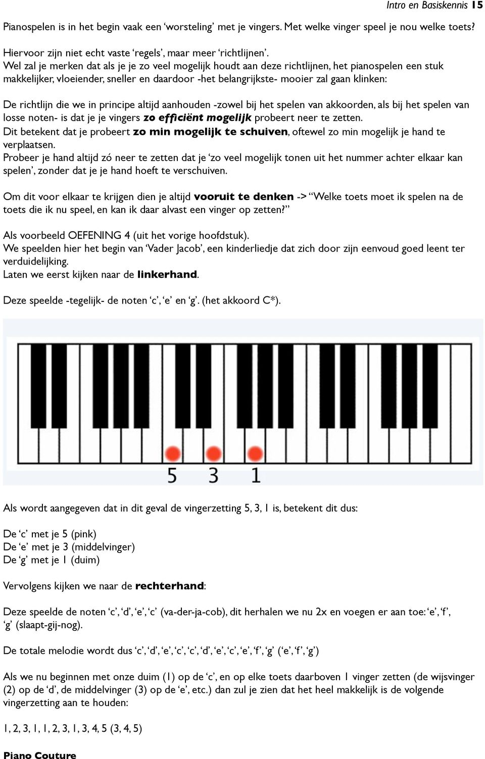 Betere Piano Couture. Intro en Basiskennis - PDF Free Download JY-46