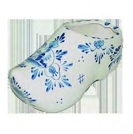 Delft Delft Porcelain Clog Blue & White 010019 Pottery & Glass