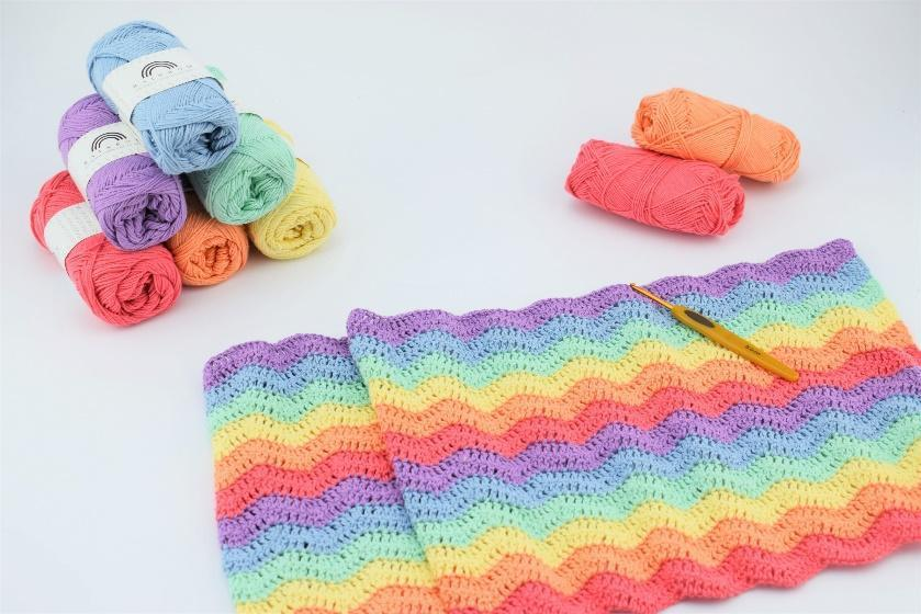 Rainbow Babykleedje Materialen Afkortingen L Losse S Steek Hv